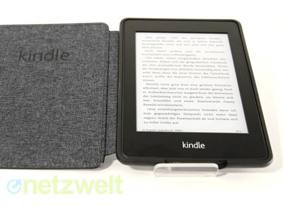 Der Kindle Paperwhite liegt in einer neuen Version vor.
