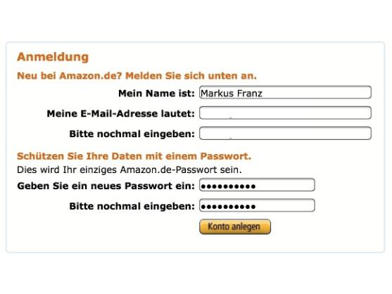 Für Bezahlung und Download ist ein normales Amazon-Konto notwendig.
