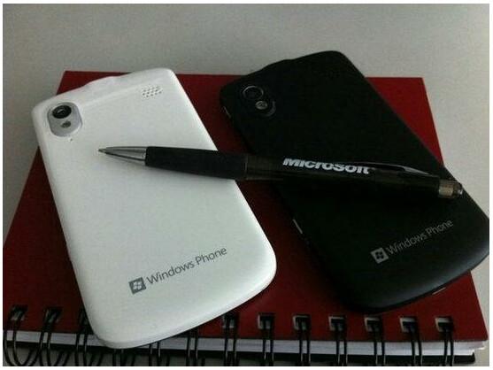 Das Bild soll das erste WP8-Smartphone von ZTE zeigen.