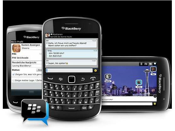 Den BlackBerry Messenger gibt es ab sofort in einer neuen Version.