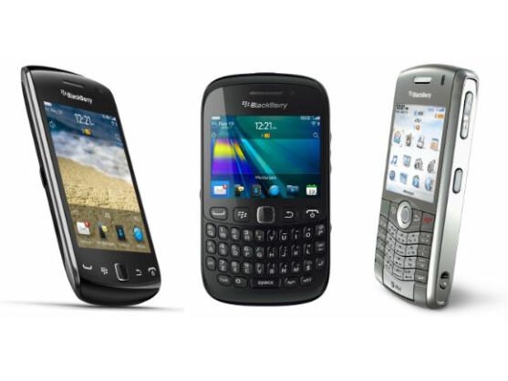 BlackBerrys verkaufen sich jedes Quartal schlechter - zumindest in den USA.