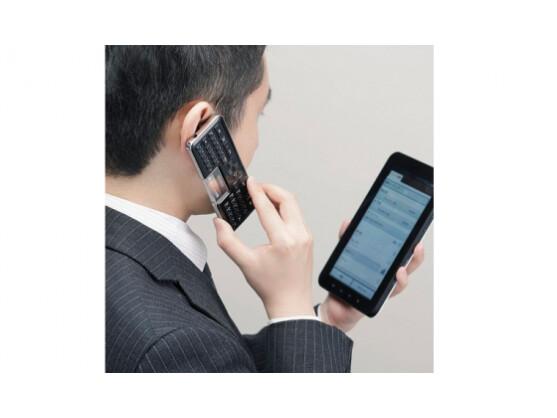 Mit der Bluetooth-Tastatur von Elecom lässt sich telefonieren und Musik hören.