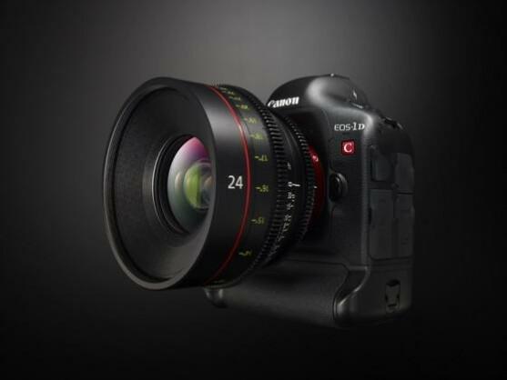Canons Spiegelreflexkamera EOS-1D C arbeitet schon mit der hohen 4K-Auflösung.