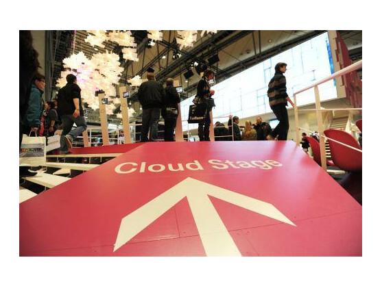 """Auf der CeBIT drehte sich alles um das Thema """"Sicherheit"""" beim Cloud Computing."""