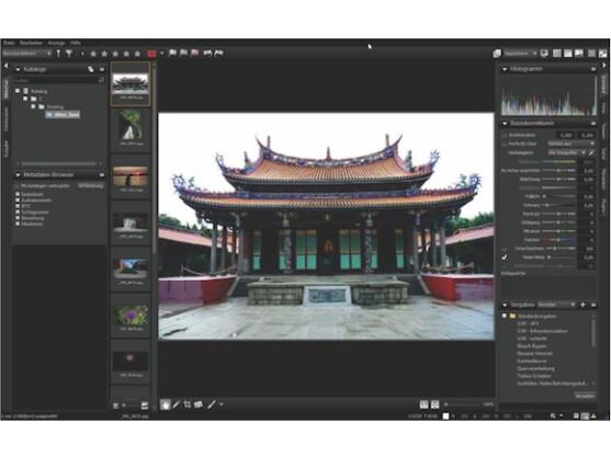 Corel tritt mit AfterShot Pro gegen Adobe Lightroom an.