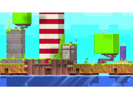Und sie dreht sich doch: Die Spielwelt von Fez bietet mehrdimensionale Möglichkeiten.