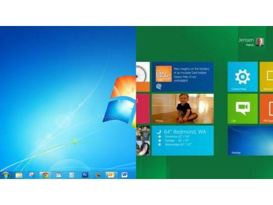 Dual Boot: Windows 8 und Windows 7 nebeneinander nutzen.