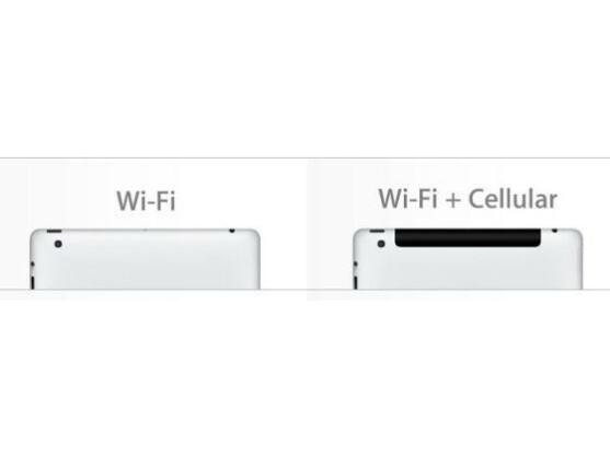 """In einigen Ländern ist das """"Wifi + 4G""""-Ipad in """"WiFi + Cellular"""" umbenannt worden."""