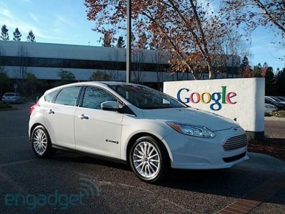 Der erste Ford Focus Electric ging an Google.