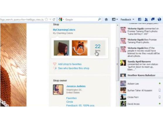 Die Erweiterung integriert sich direkt in Firefox.