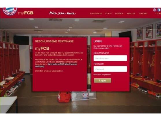Ein Facebook-Account allein reicht nicht: Der FC Bayern München eröffnet sein eigenes Soziales Netzwerk.