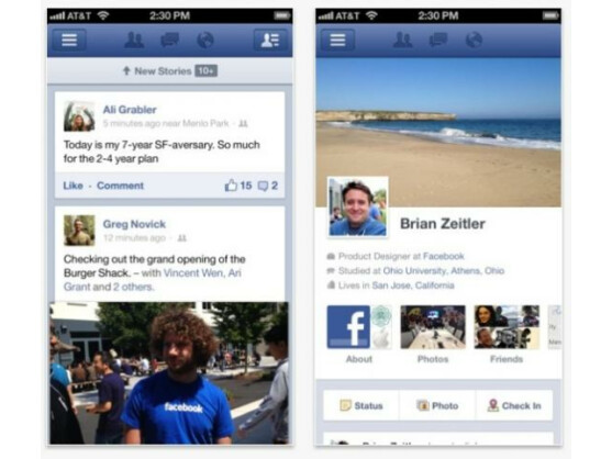 In der Facebook-App für iOS lassen sich nun Instagram-ähnliche Filter anwenden.