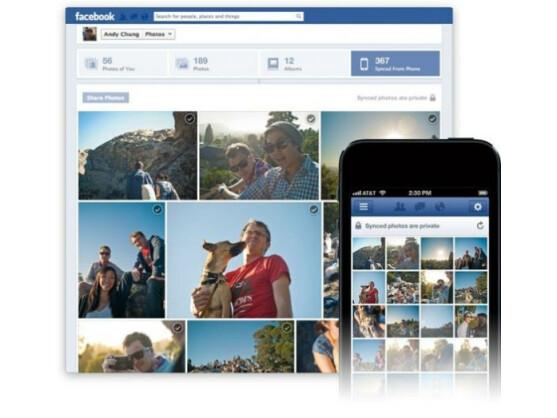 Facebook führt aktuell die neue Funktion Photo Sync ein.