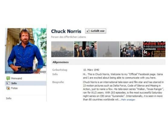 Chuck Norris Tot