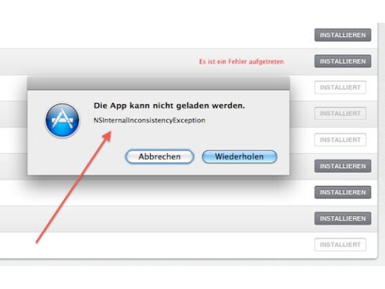 Die Fehlermeldung hilft Nutzern leider nicht wirklich weiter.