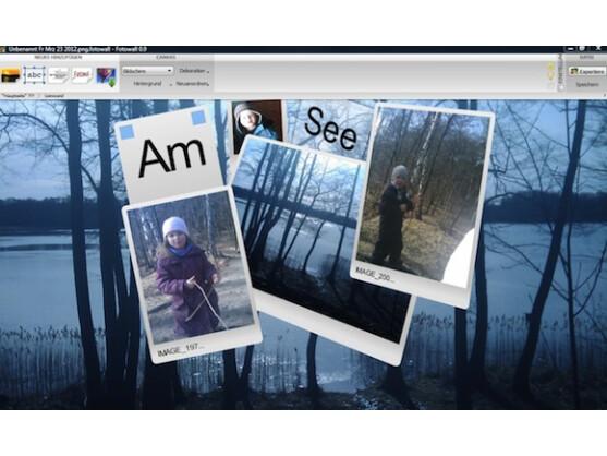 Fotowall überzeugt im Kurztest durch seine besonders einfache Bedienung.