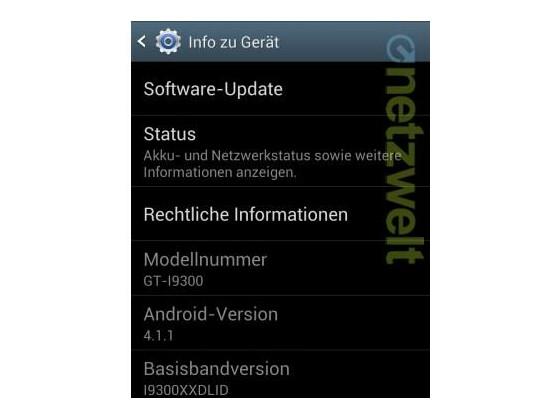 Telekom-Kunden müssen auf das Jelly Bean-Update für das Galaxy S3 noch ein wenig warten.