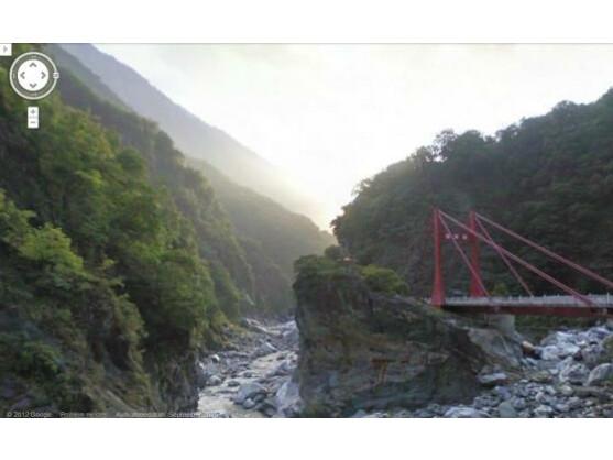 Google aktualisiert Street View. Das Bild stammt aus dem Taroko National Park in Taiwan.