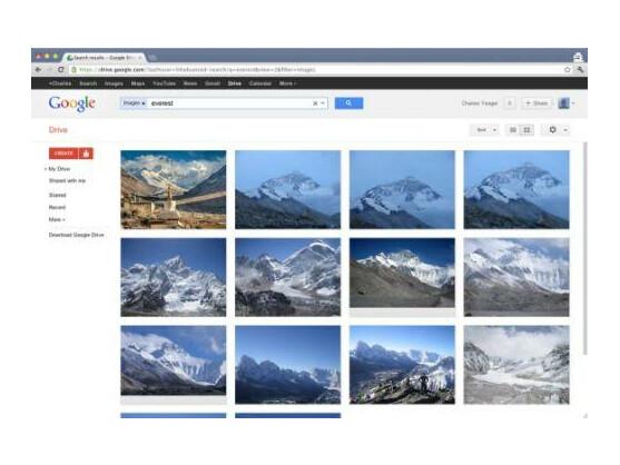 Mit Google Drive können Nutzer Dokumente speichern und von überall abrufen.