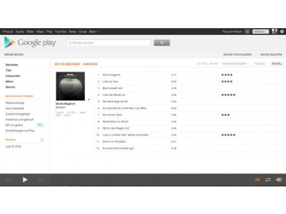 Google Music gibt es jetzt auch endlich in Deutschland.