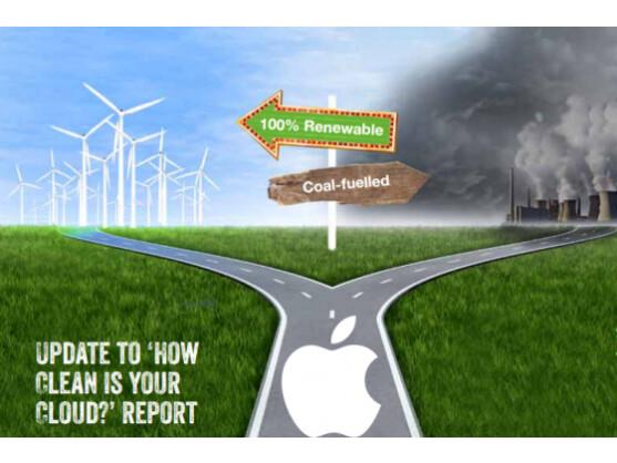 Greenpeace hat die Klimaverträglichkeit von Apples iCloud nun besser bewertet.