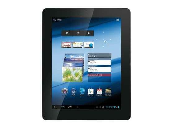 Günstiger Flachrechner: das Android-Tablet Touchlet X10.dual.