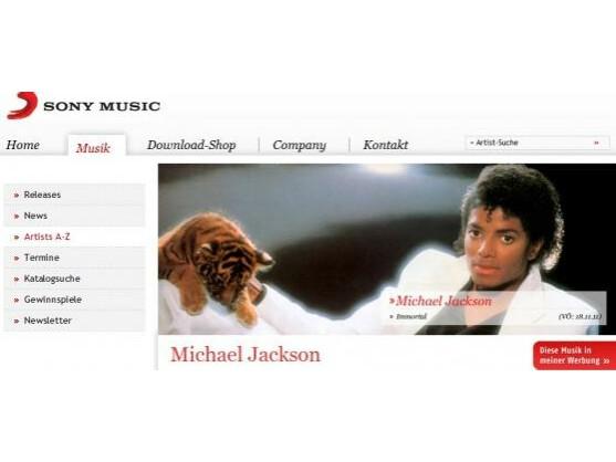 Hacker sollen 50.000 Musikdateien von Michael Jackson bei Sony Music geklaut haben. eruntergeladen haben