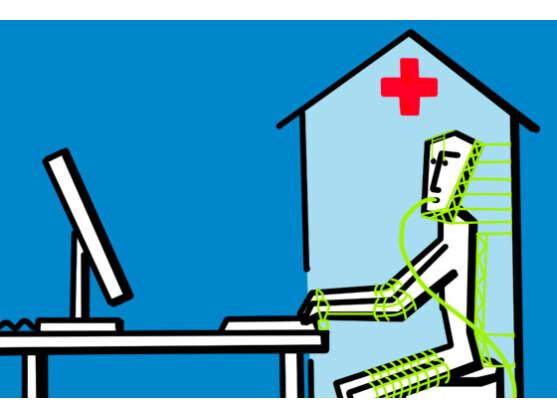 Hightech-Kapseln machen den Menschen fit für die Arbeit am Computer.
