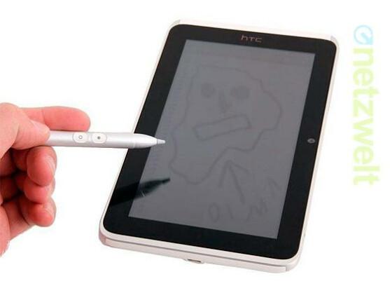 Das HTC Flyer ist bisher das einzige Tablet des Herstellers.