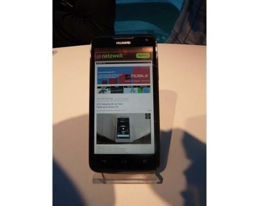 Das Huawei Ascend quad soll das schnellste Smartphone der Welt sein.