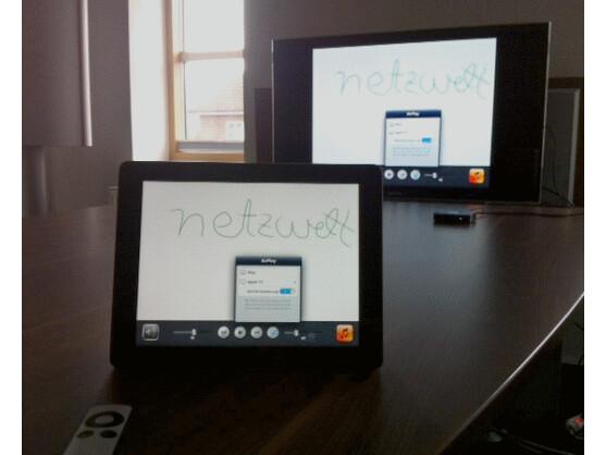 Ideal für Präsentationen: AirPlay Mirroring funktioniert seit dem iPad 2 und mit dem iPhone 4S.