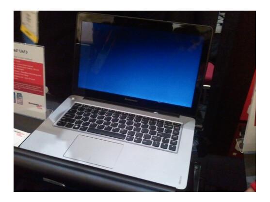 Das IdeaPad 410 erweitert das Ultrabook-Portfolio von Lenovo.