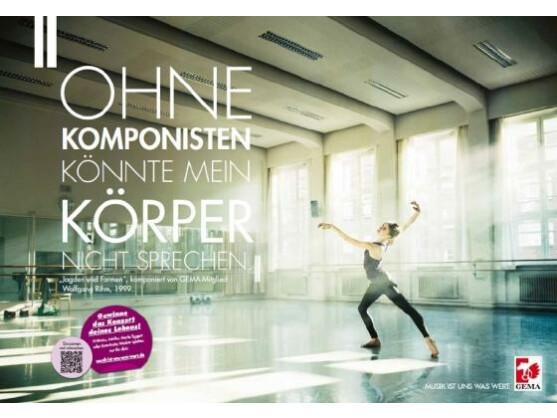 Die Image-Kampagne beginnt mit großen Plakaten deutschlandweit.