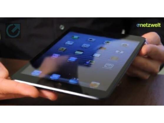 Das iPad mini ist in der Redaktion eingetroffen.