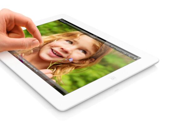 Das iPad in der vierten Generation unterscheidet sich äußerlich nicht von seinem Vorgänger.