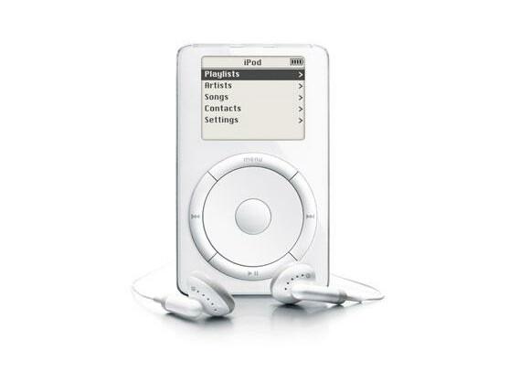 Der iPod in der ersten Generation.