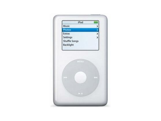 Der iPod in der vierten Version mit dem neuen ClickWheel.