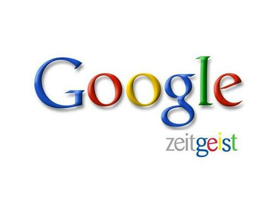 Auch dieses Jahr hat Google wieder die Zeitgeist-Statistik veröffentlicht.