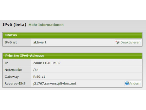 JiffyBox unterstützt ab sofort das IPv6-Protokoll.