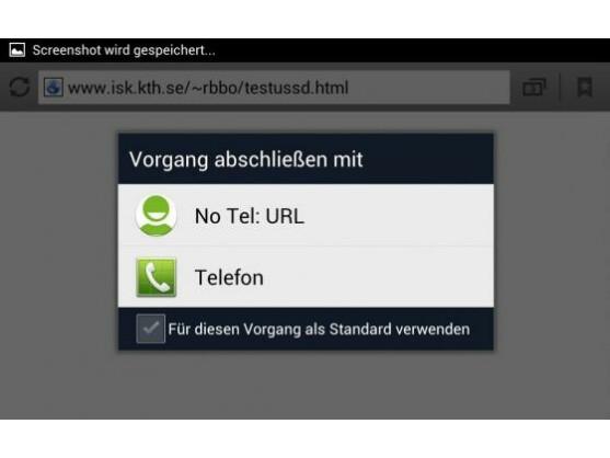 Jörg Voss stellt die App NoTelURL inzwischen auf Google Play bereit.