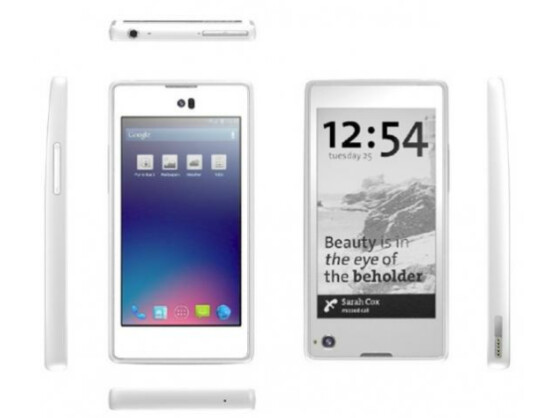 Klingt vielversprechend: Das YotaPhone mit doppeltem Bildschirm soll ab Ende 2013 auch in Deutschland erhältlich sein.
