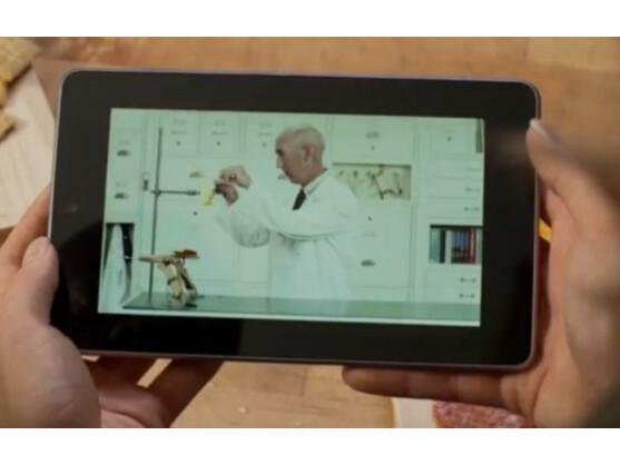 Der kommende Tablet-Computer von Google: Das Nexus 7.