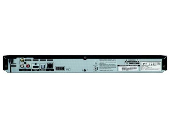 Kommt ohne analoge YUV-Ausgänge, WLAN und Lüfter aus: der LG BD 660.