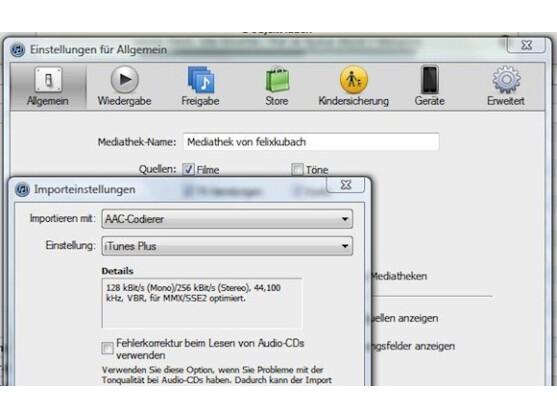 Die Konvertierung von WMA- in AAC-Dateien ist mit iTunes eigentlich ganz einfach.