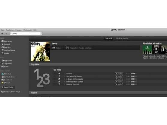 Der Künstler Nomy verdient sein gesamtes Einkommen über Spotify.