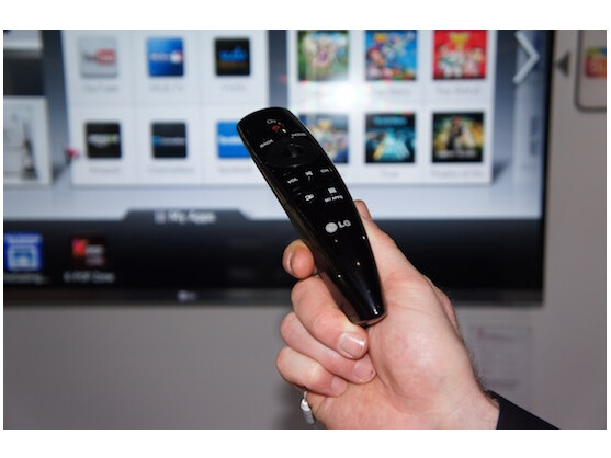 LG Magic Remote: Fernseher per Sprache und Bewegung steuern