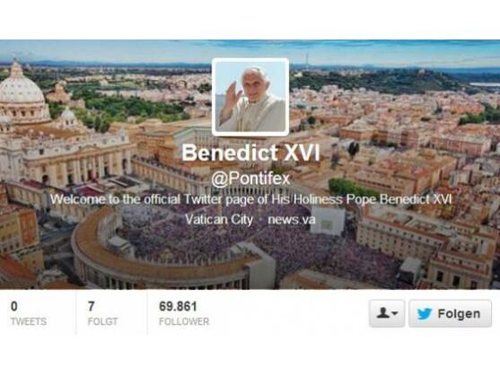 Wer mag, kann dem Papst ab jetzt bei Twitter folgen.