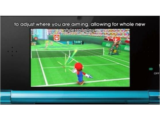 Auch für Mario Tennis 3DS kündigte Satoru Iwata einen Verkaufsstart an.