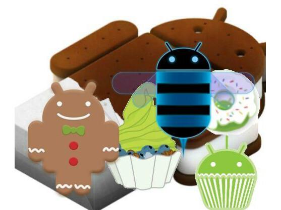 Am Markt existieren immer noch mehrere Android-Versionen parallel.