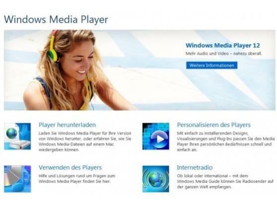 Der Media Player wird in Windows 8 standardmäßig keine DVDs abspielen können.